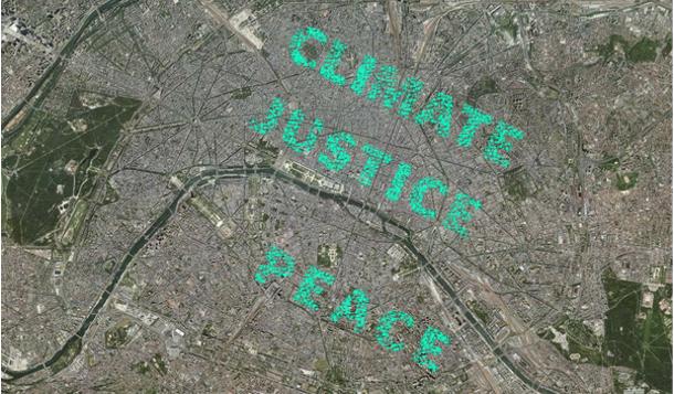 Climate justice peace