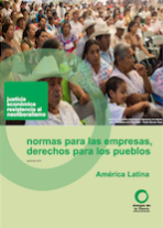 Leaflet - Rules for business rights for people Latin America in focus