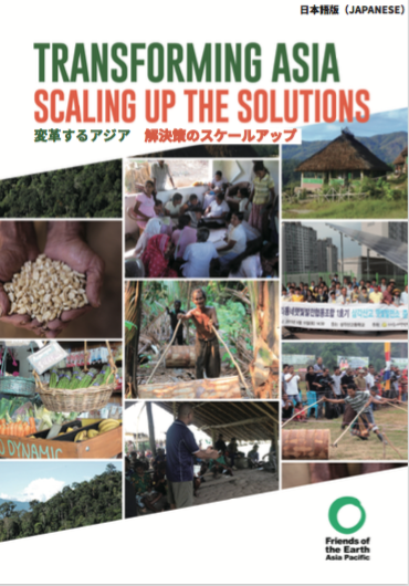 See report Transforming Asia - scaling up the solutions (japanese)