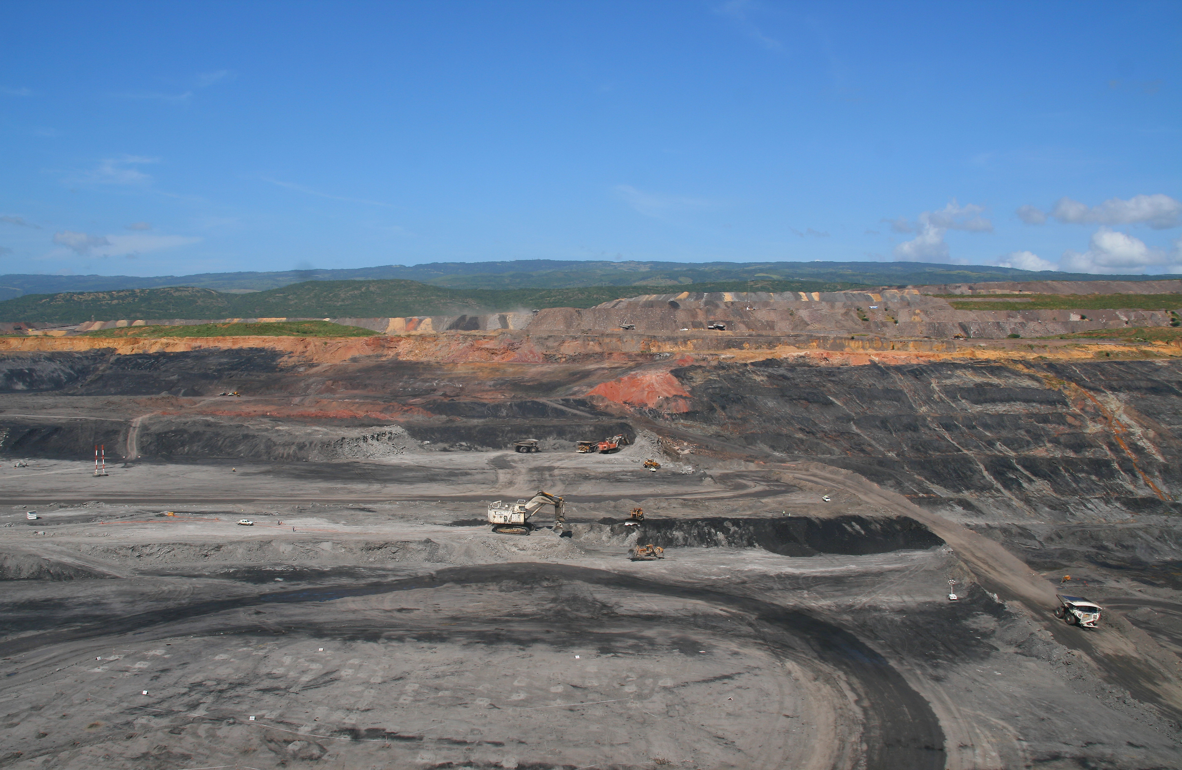 El Cerrejón, one of the world's largest open pit coal mines, Colombia ©Tanenhaus