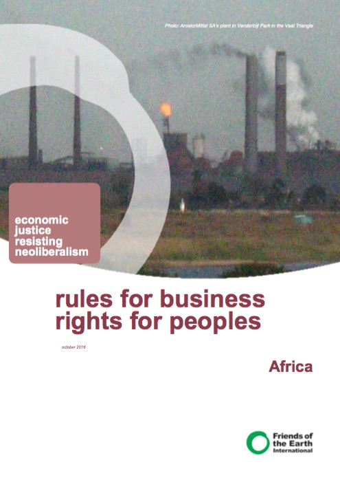 Leaflet - Rules for business rights for people Africa in focus