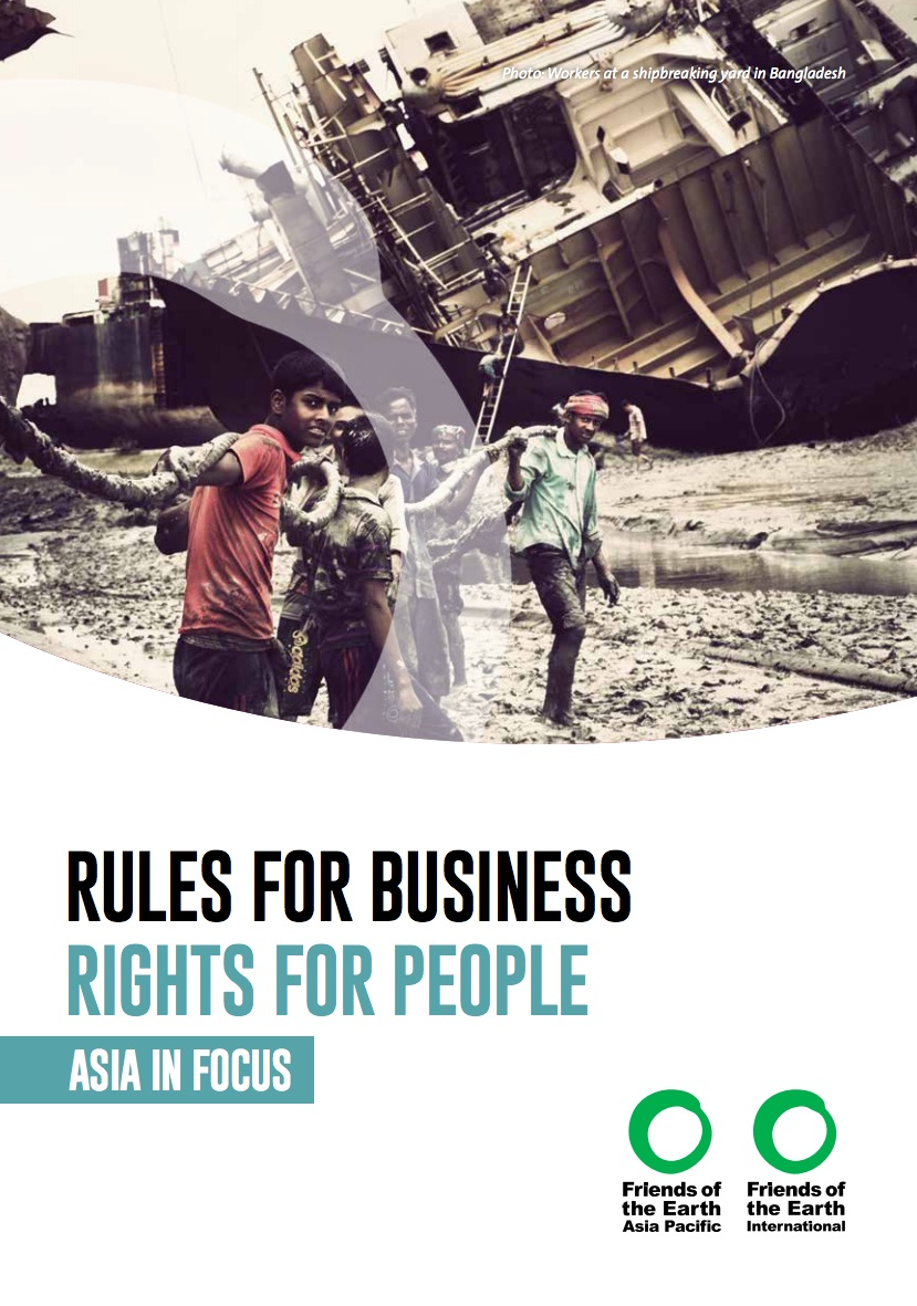 Leaflet - Rules for business rights for people Asia in focus