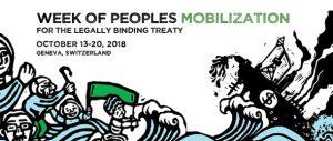 UN Treaty Peoples' week of mobilization