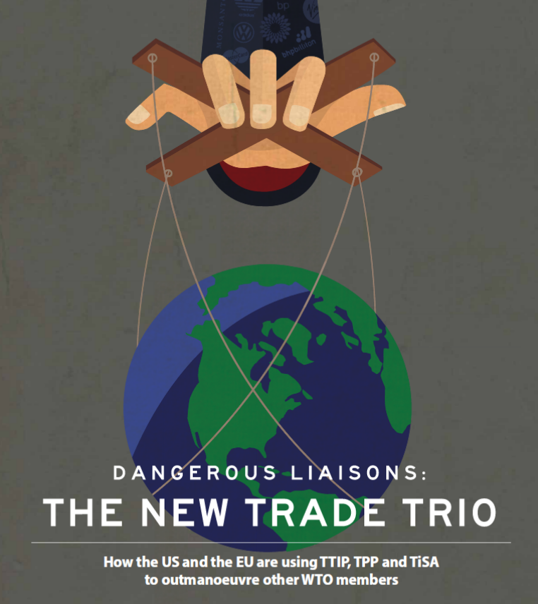 Secret Tisa Trade Deal Equally As Dangerous As Tpp And Ttip Finds