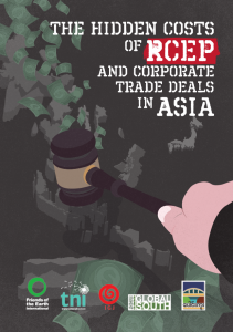 Screenshot report: RCEP Report