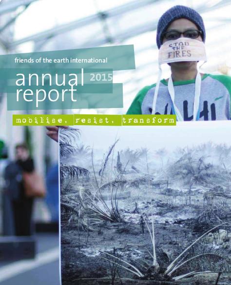 FoEI - Annual report 2014