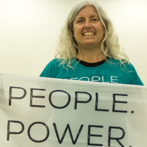Karin, Friends of the Earth Uruguay / FoEI Chair