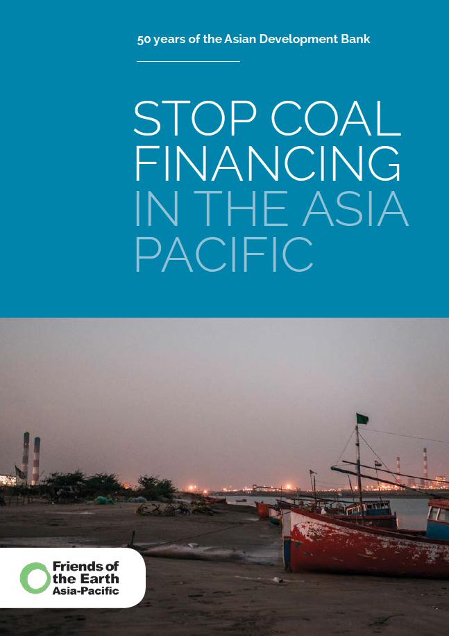 Stop_financing coal in Asia Apcific_report_cover