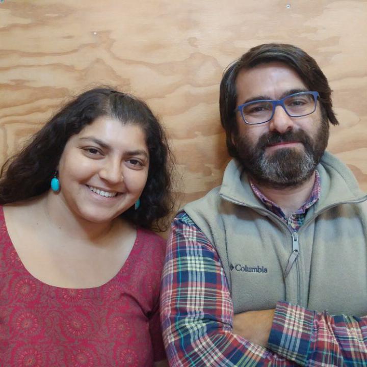 Dipti Bhatnagar y Martín Drago, de los programas de 'Justicia climática y energía' y 'Soberanía alimentaria'