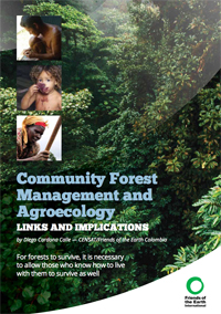 community forest management and agroecology report cover