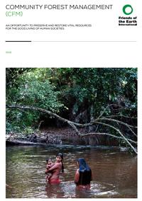 Community forest management publication cover thumbnail