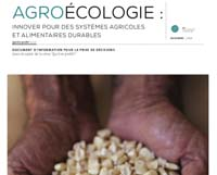 Agroécologie: innover pour des systèmes alimentaires et une agriculture durables