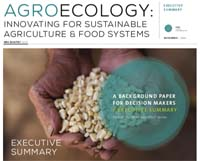 Agroecology: innovating for sustainable agriculture & food systems / Executive Summary