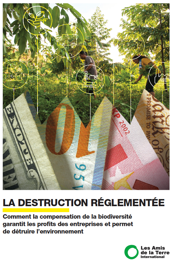 Regulated destruction report French