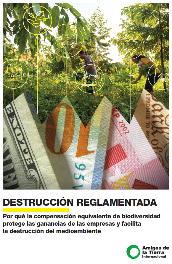 Cover regulated destruction Spanish