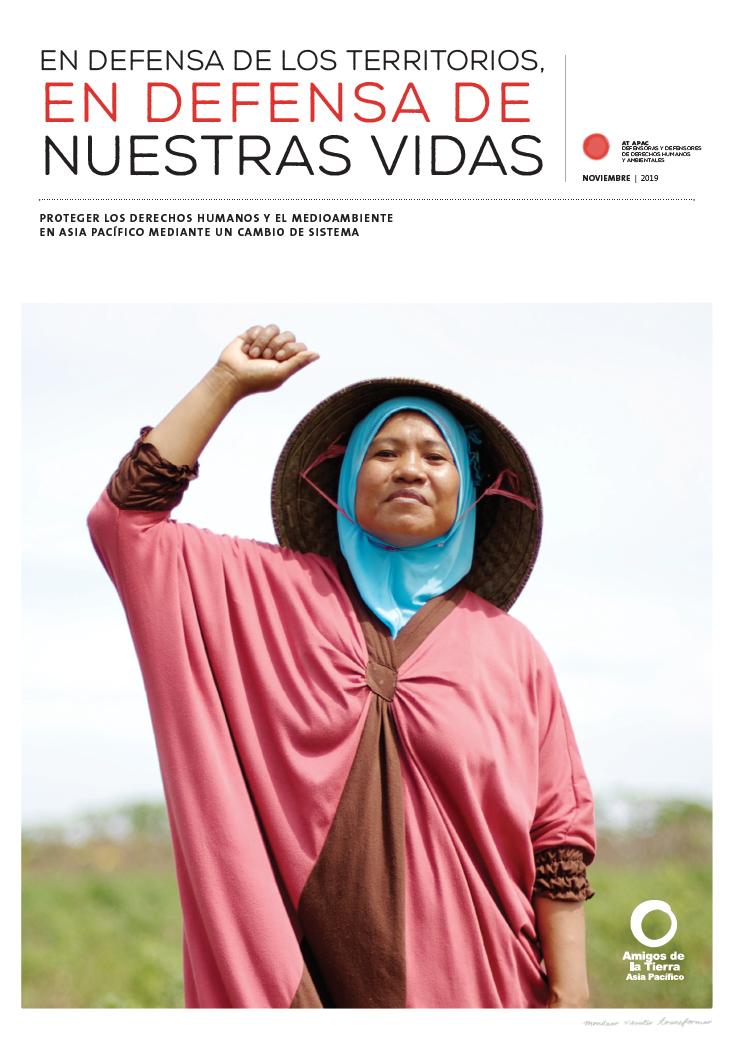 Proteger los derechos humanos y el medioambiente en Asia Pacifico mediante un cambio de sistema pagina de cobertura