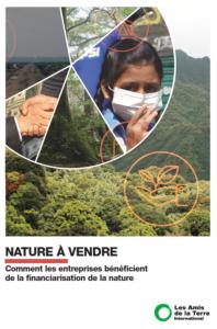 Amis de la Terre_Nature a vendre rapport_page de garde