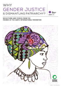 Why Gender Justice and Dismantling Patriarchy booklet cover by Friends of the Earth International