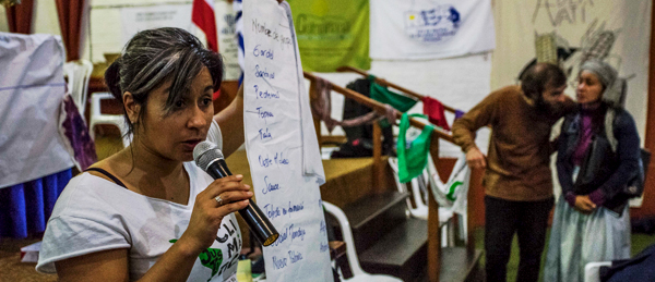 seeds network uruguay woman speaking