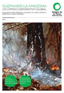 Quemando la Amazonia_Amigos de la Tierra Internacional_portada