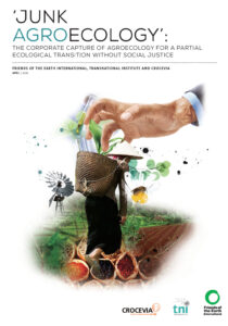 Junk Agroecology FOEI TNI Crocevia cover page ENG