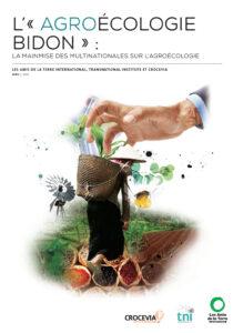L'agroecologie bidon ATI TNI Crocevia page de garde FR
